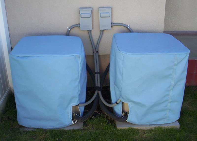 Twin Air Conditioner Covers